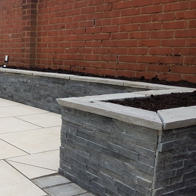 Grey Slate Cladding by Grounded Landscapes (8) SQ